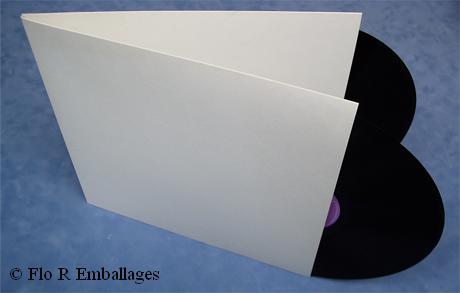 Pochettes Simples Ou Doubles Pour Disque Vinyl 33T